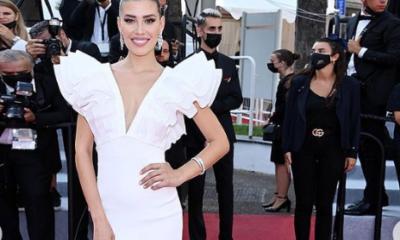Michelle Salas en Cannes