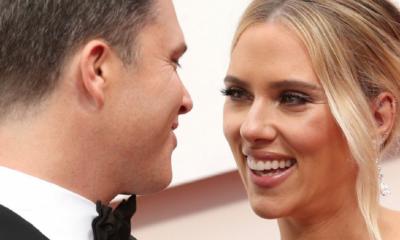 Scarlett Johansson y su esposo