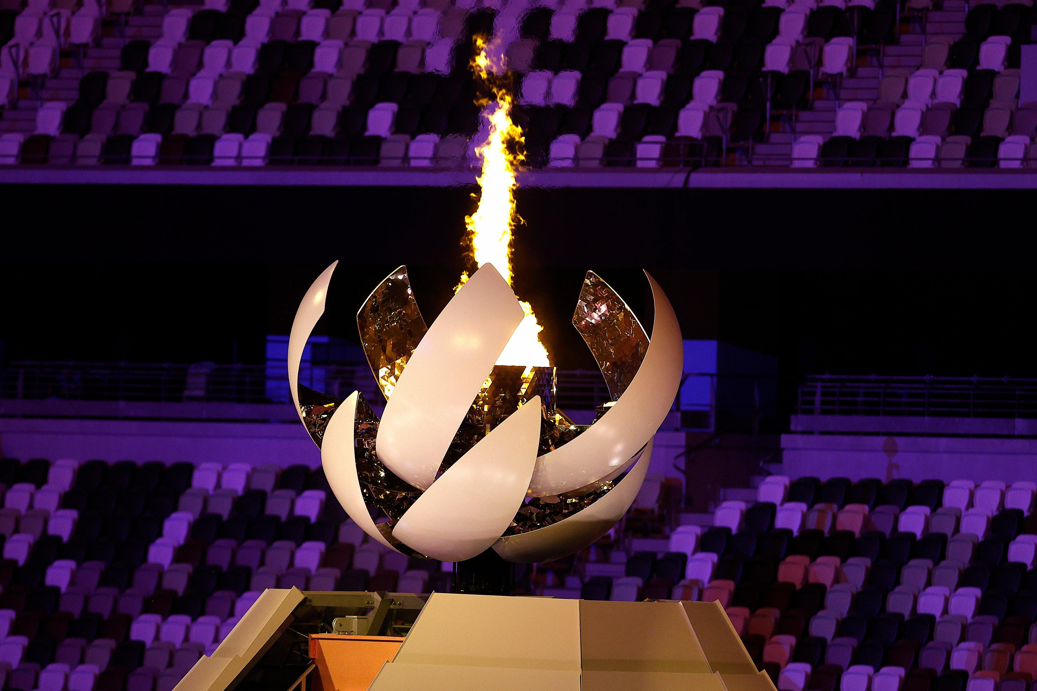 Cayó la audiencia en la inauguración de los Juegos Olímpicos de Tokio. foto: Twitter