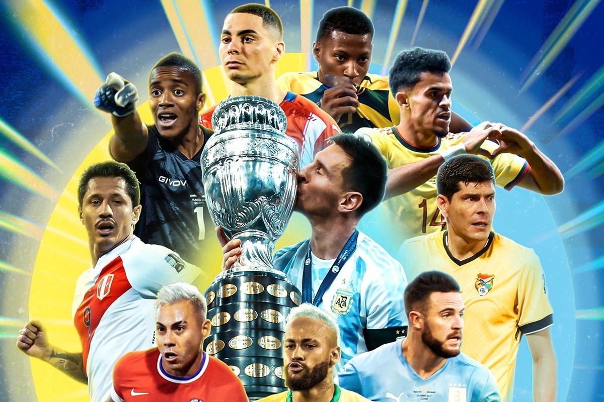 Copa América. Foto: Twitter