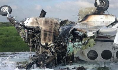 Avioneta se desploma en aeropuerto de Durango