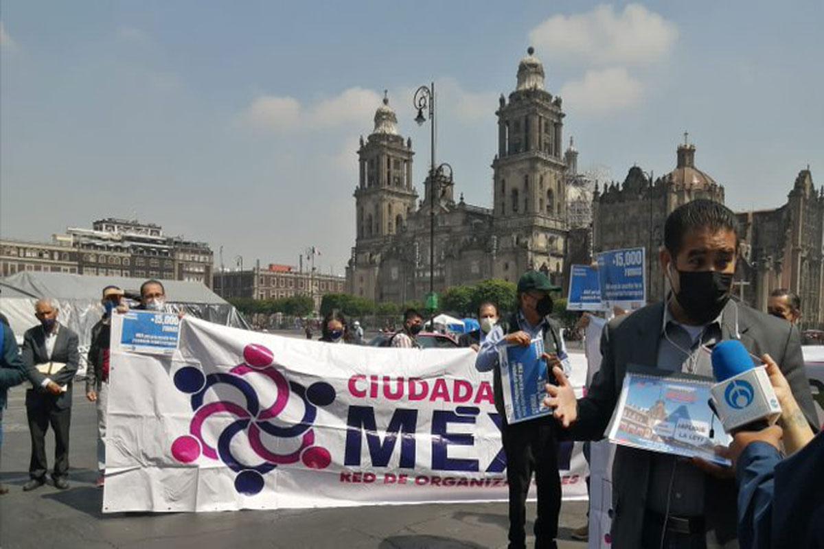 """Misión Rescata México"" rechaza consulta sobre ex presidentes; aseguran que es una farsa"