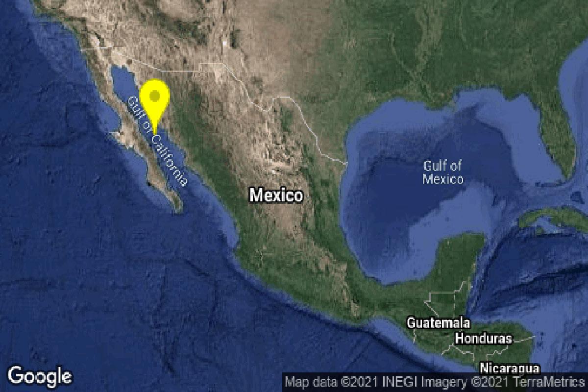 Se registran par de sismos... en Sonora