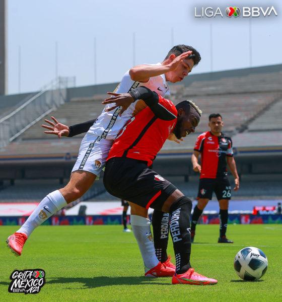 Empate de bostezo entre Pumas y Alas. Foto: Twitter