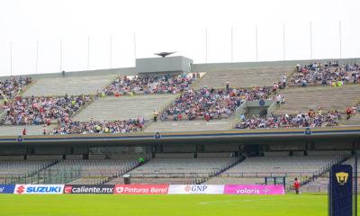 Regresa afición al Estadio de Ciudad Universitaria