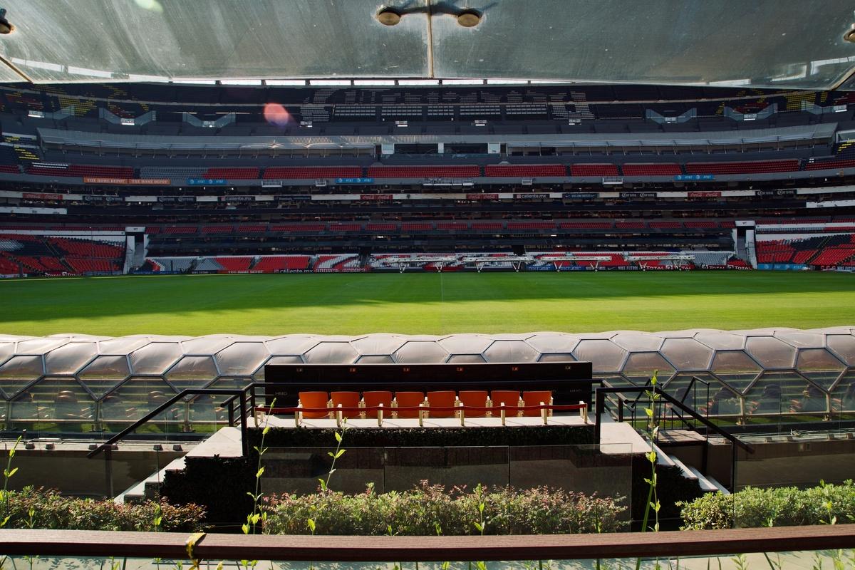 Estadios de la Ciudad de México abren sus puertas. Foto: Twitter Estadio Azteca