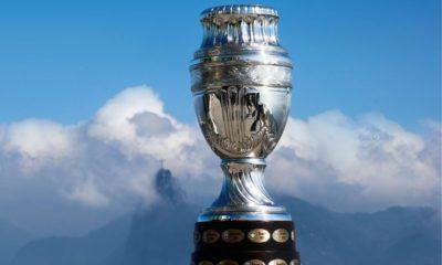 Final de la Copa América con aficionados. Foto: Twitter