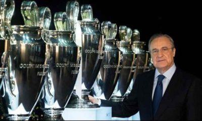 Florentino Pérez. Foto: Real Madrid