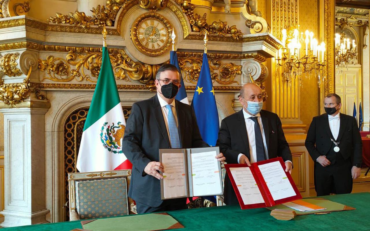 """México y Francia le """"ponen un alto"""" al tráfico bienes históricos"""