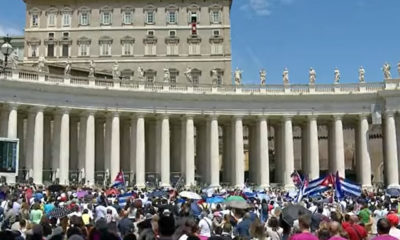 """Recen a la Virgen de la Caridad del Cobre por la paz"", Pide Francisco a cubanos"
