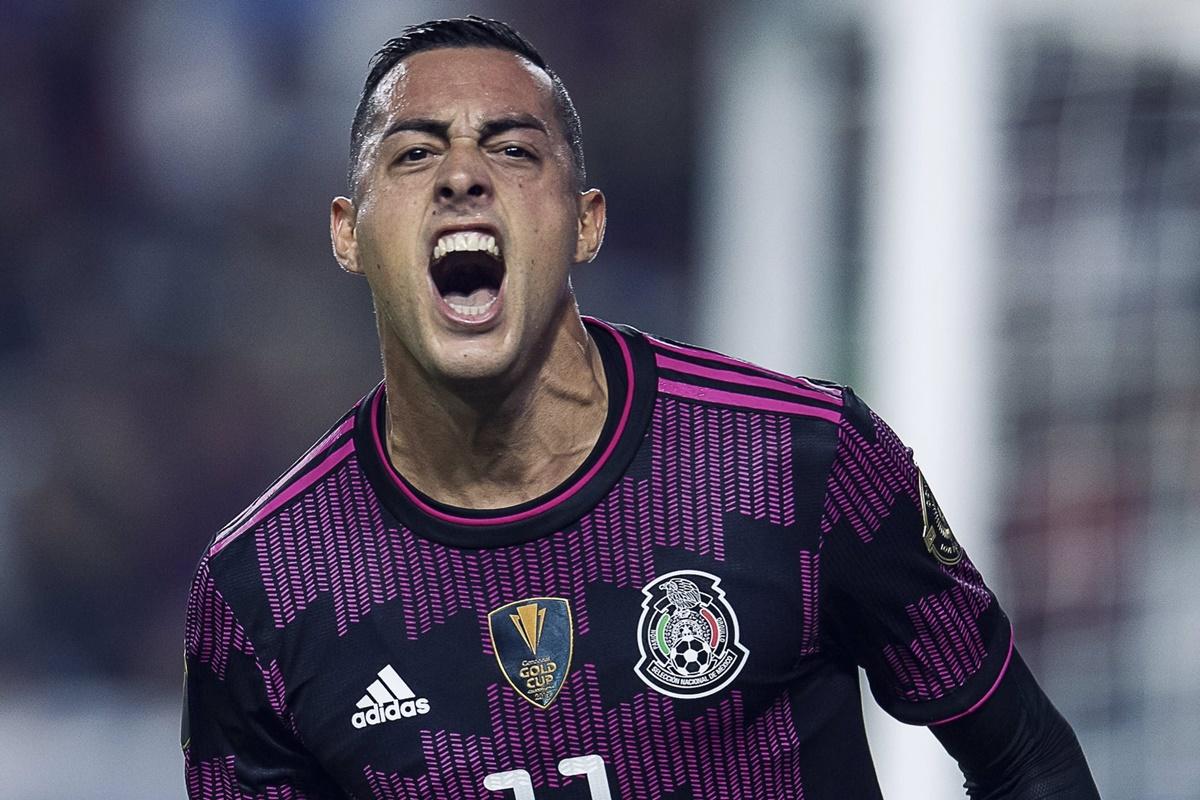 Funes Mori con la selección mexicana. Foto Twitter Rayados