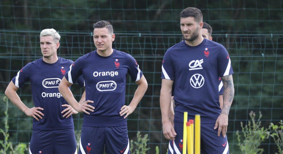Gignac con la selección de Francia. Foto: Twitter