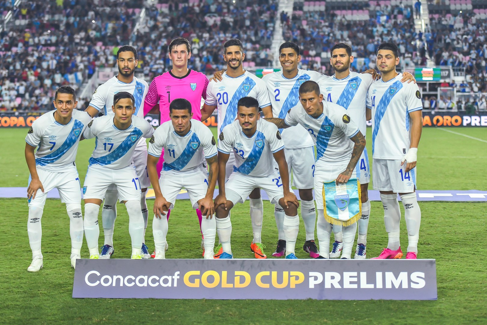 Guatemala en lugar de Curazao en Copa Oro. Foto: Twitter