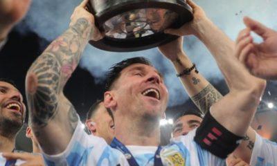 Lionel Messi firmaría cinco años con Barcelona. Foto: Twitter