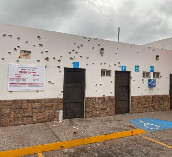 Por balaceras, suspenden jornada de vacunación contra Covid en Magdalena de Kino. Foto: Especial