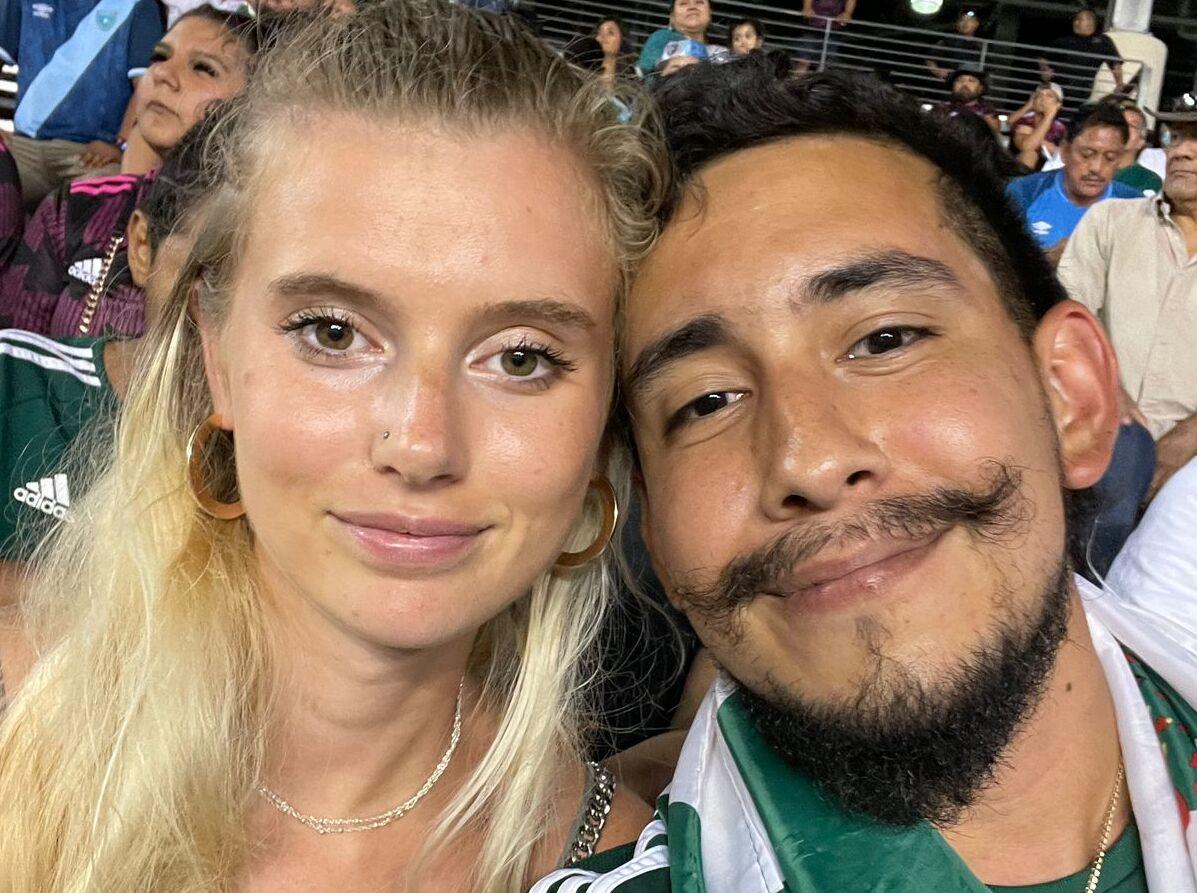 Quiénes hicieron famosos a la pareja del México vs. Guatemala. Foto: Twitter