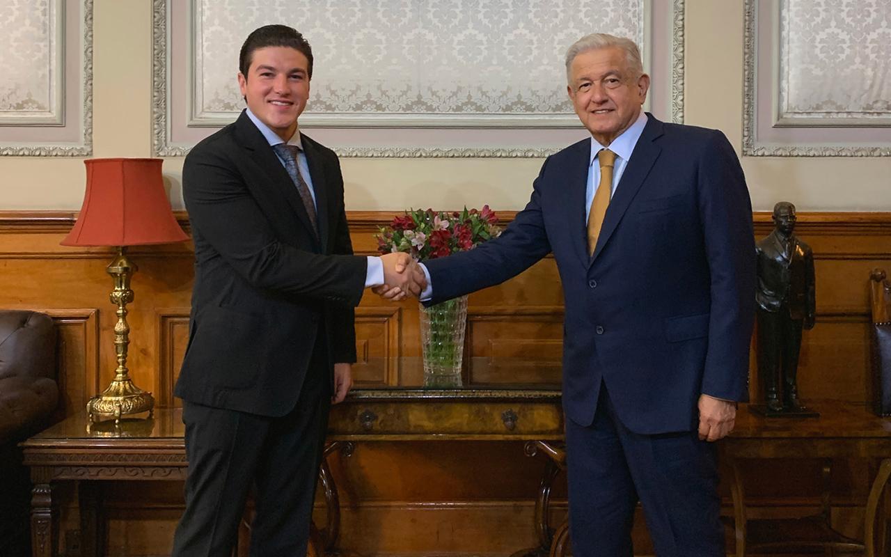 López Obrador se reúne con la oposición; augura buena relación con Samuel García