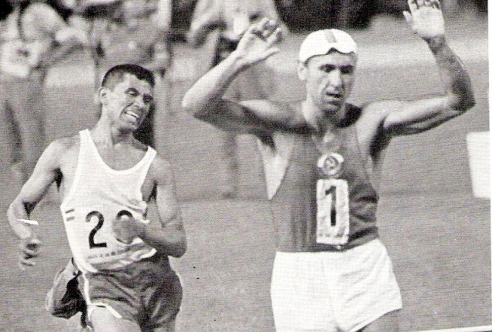 Sargento Pedraza ganó plata en México 1968. Foto: Twitter