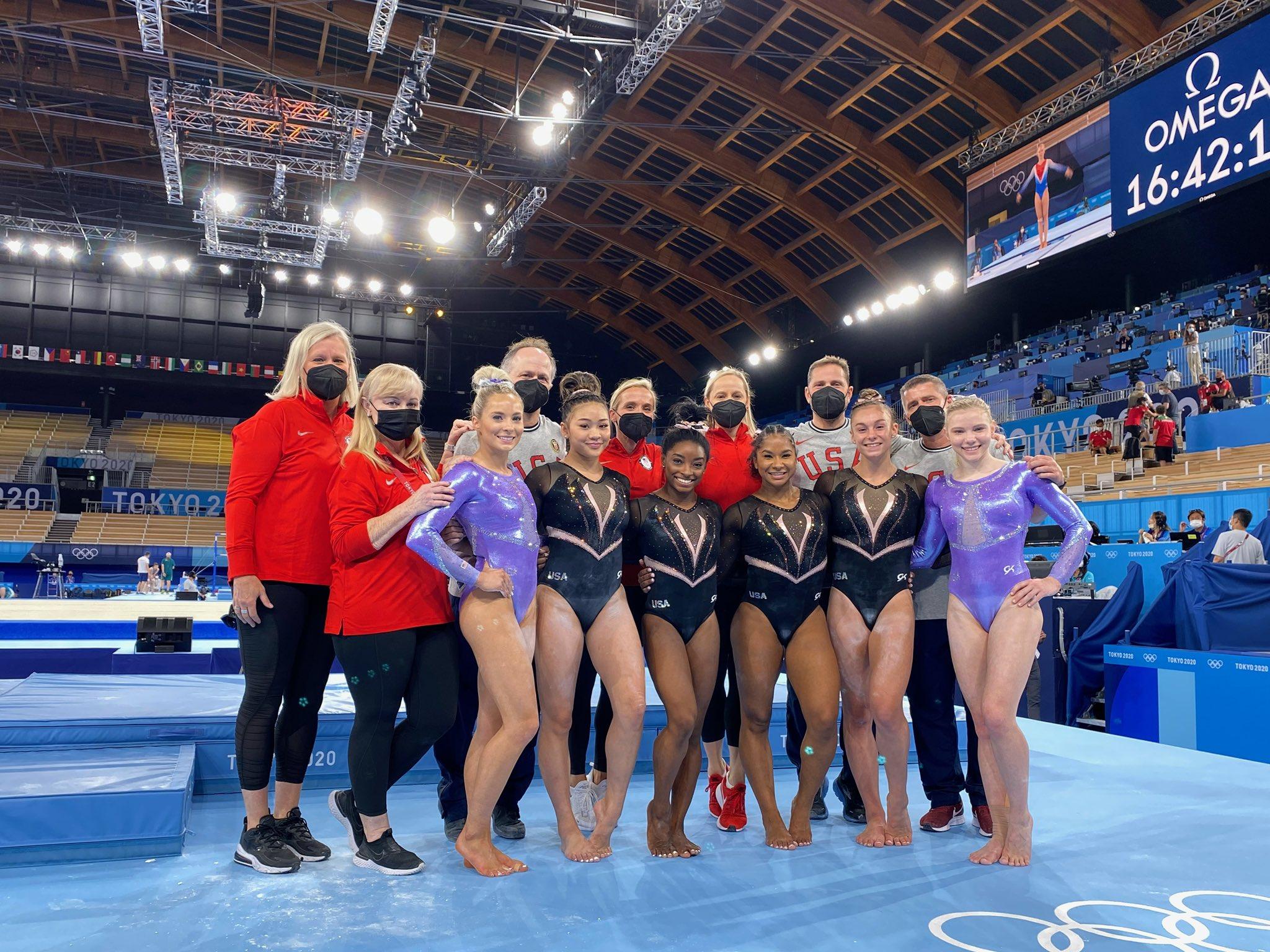 Simone Biles renunció a algunas pruebas de Juegos Olímpicos. Foto: Twitter