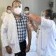 Inicia fase 20 de vacunación contra Covid en la CDMX. Foto: Cuartoscuro