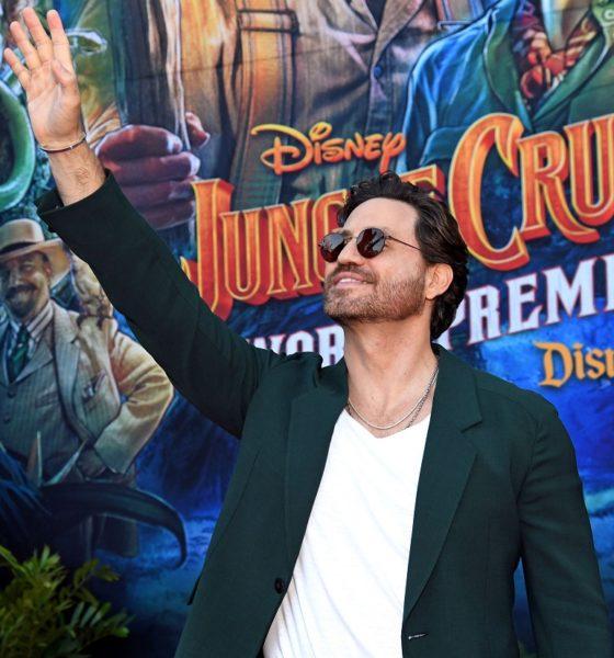 Edgar Ramírez Jungle Cruise premier