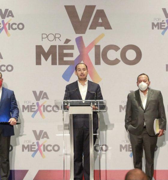 Coalición Va Por México exige anulación de elecciones