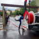 Limpian fraccionamientos inundados por las lluvias