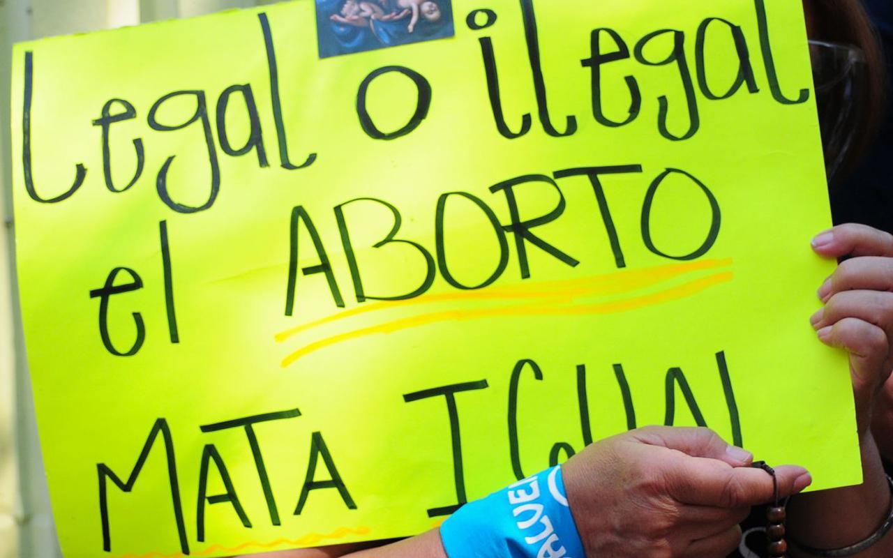 """""""El aborto no es un derecho"""": Mujeres Libres y Soberanas"""