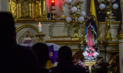 La Virgen de Guadalupe acompaña a olímpicos mexicanos