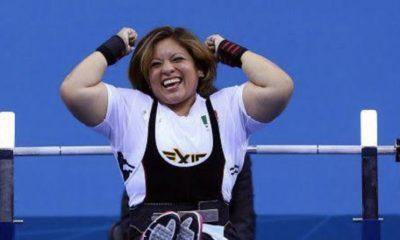 Amalia Pérez gana medalla de oro. Foto: Twitter