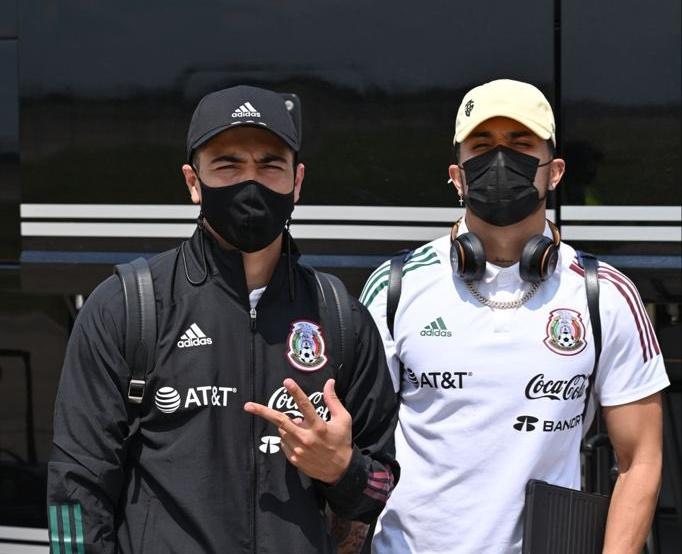Asaltaron a Erick Gutiérrez a su llegada a la Ciudad de México. Foto: Twitter