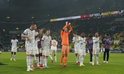 Bayern Múnich, campeón de la Supercopa de Alemania. Foto: Twitter