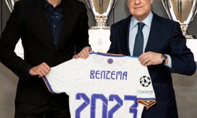 Benzema se queda con el Real Madrid. Foto: Twitter