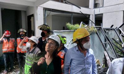 Víctimas de explosión en colonia Acacias recibirán apoyo: Sheinbaum