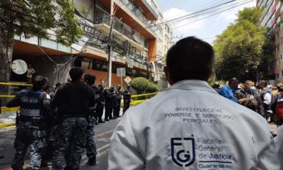 Fiscalía de la CDMX ya investiga causas de explosión en alcaldía Benito Juárez