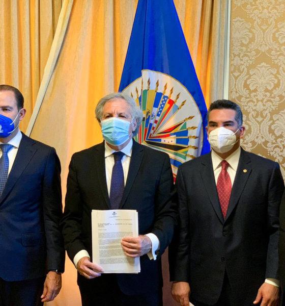 "Denuncia alianza Va por México ""narco-elección"" ante la OEA"
