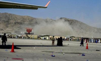 Explosión en aeropuerto de Kabul deja muertos y heridos; se presume ataque suicida