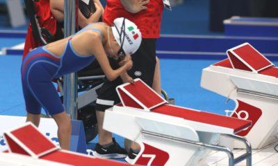 Fabiola Ramírez, primera medallista paralímpica. Foto: Twitter