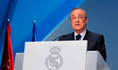 Florentino Pérez, presidente del Real Madrid. Foto: Twitter