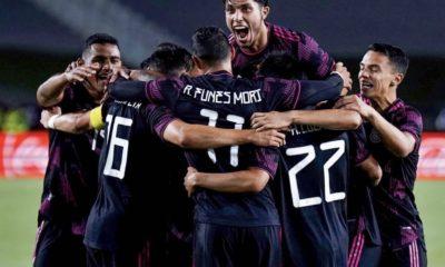 Funes Mori se ve en la Copa del Mundo. Foto: Twitter