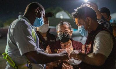 Llega a Haití ayuda humanitaria que envío México
