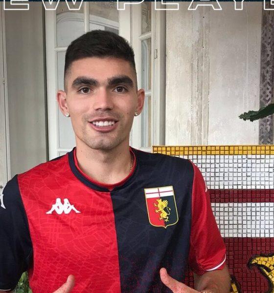 Johan Vásquez, nuevo jugador del Genoa. Foto: Twitter