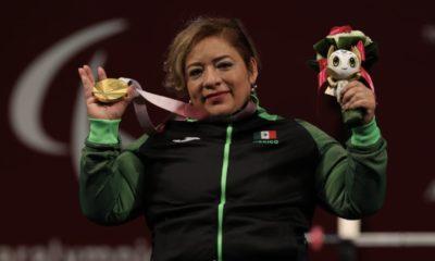 Las 100 medallas de oro de la Delegación Mexicana. Foto: Twitter