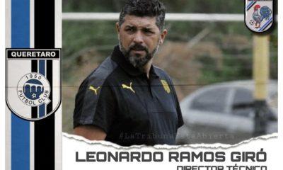 Leonardo Ramos llegó al Querétaro. Foto: Twitter