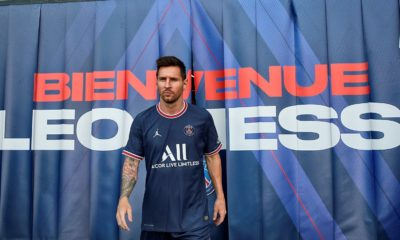 Lionel Messi con el PSG. Foto: Twitter
