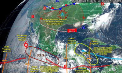 """Marty"" se mantendrá como tormenta tropical ¿hay riesgo en México?"