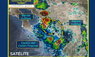 """Nora"" cruza municipios de Sinaloa"