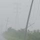 """Más de 355 mil casas se quedaron sin luz por huracán """"Nora"""""""