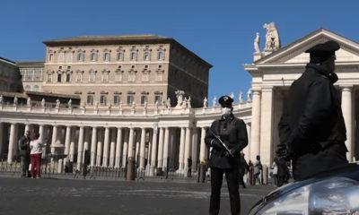 Identifican a hombre que envió carta con balas al Papa Francisco