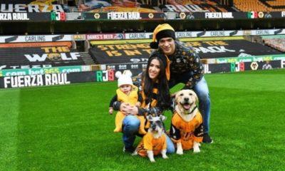Raúl Jiménez recibió apoyo de su familia. Foto: Instagram